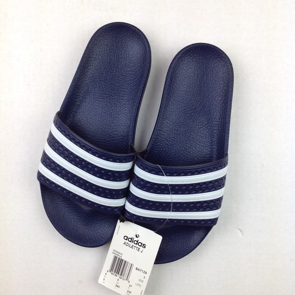 8114ec7ea3a169 Adidas adilette slides youth 5 women s 6